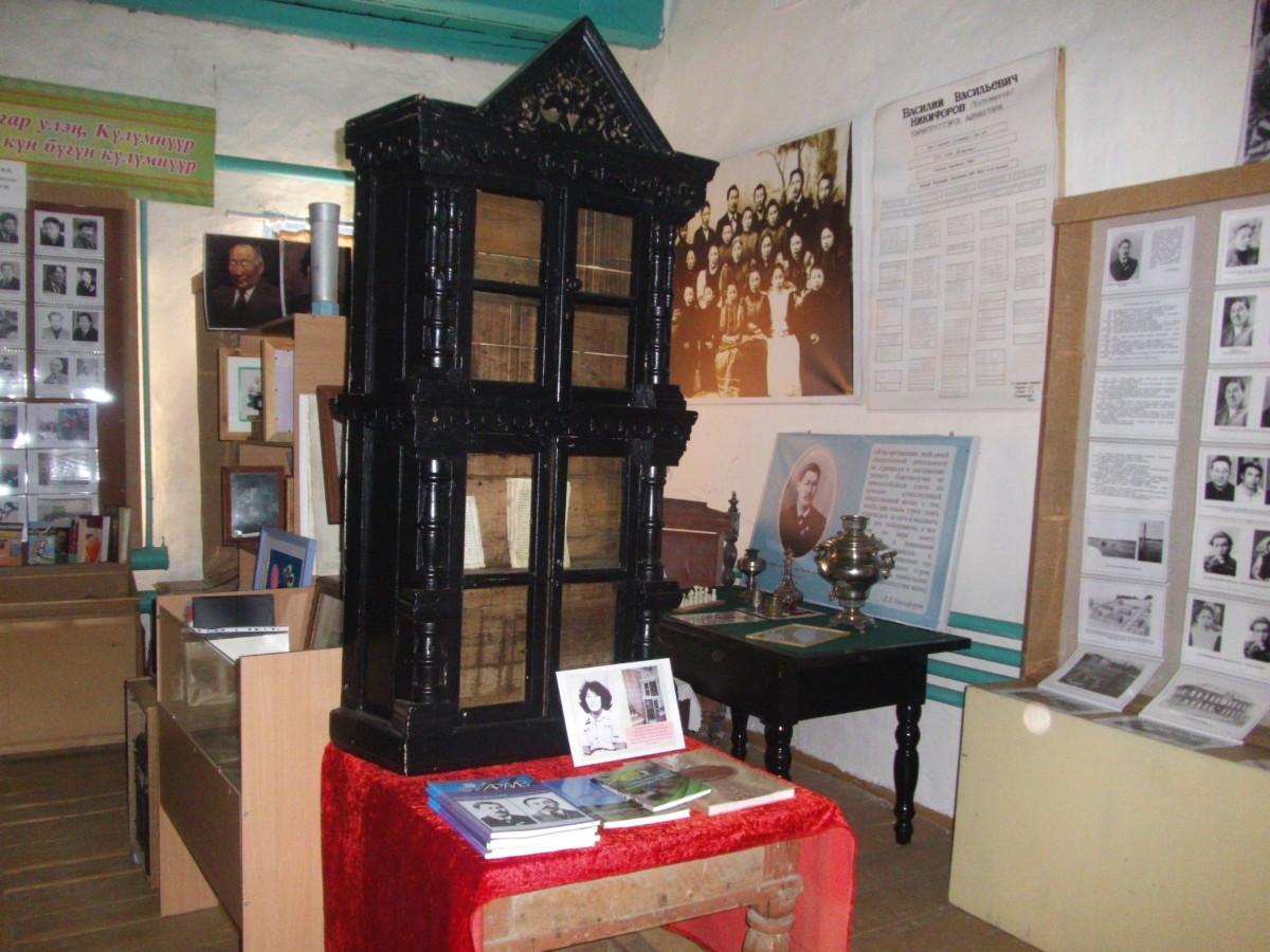 Дүпсүн кыраайы үөрэтэр музейыгар В.В. Никифоров-Күлүмнүүр саалата