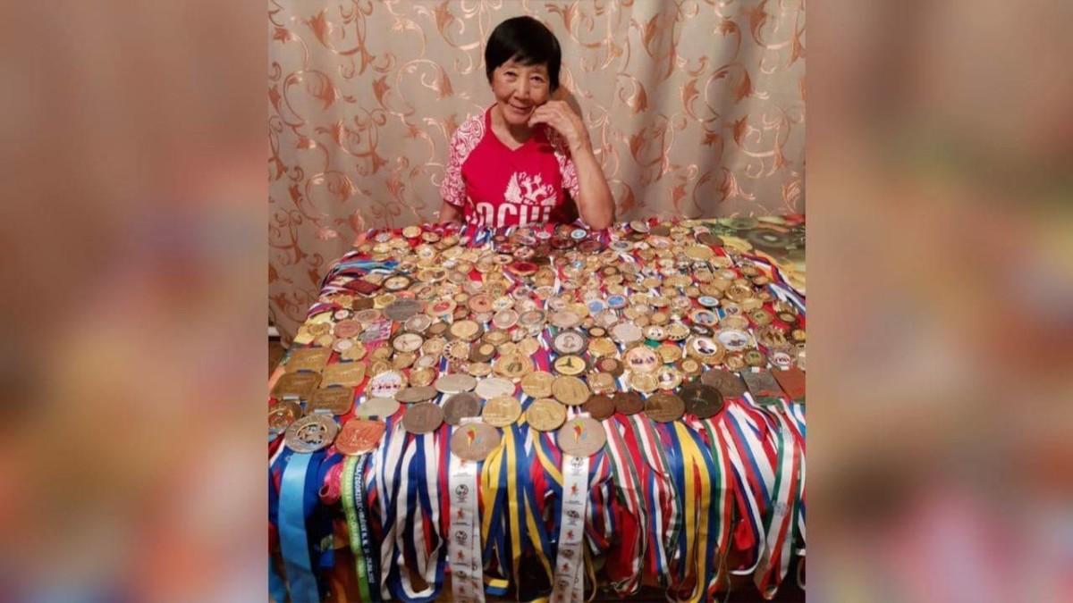 Чэпчэки атлетика легендата  Мария Неустроева