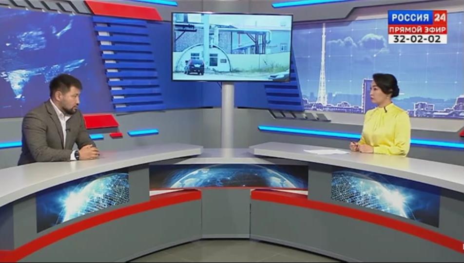 Евгений Григорьев «Россия 24» телевизионнай ханаал быһа эфиригэр таҕыста